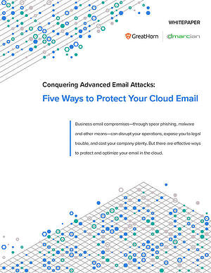 Five Ways to Protect Your Cloud Email cover