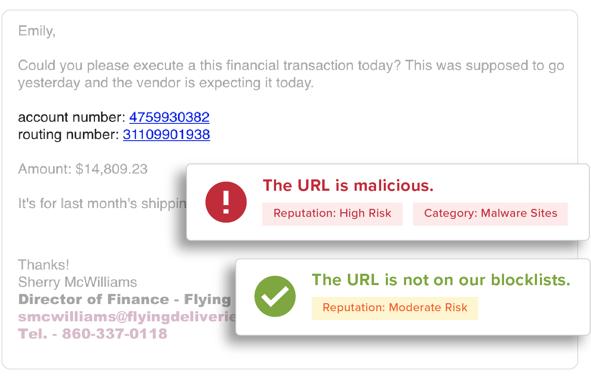 bec phishing attack warnings